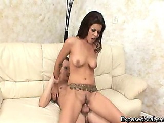 Porn Tube of Firm Arabian Princess Loves Riding A Big