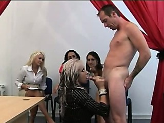 Porn Tube of Hot Cfnm Bitches Watch Babe
