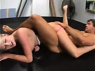 Porno Video of Sexy Wrestling