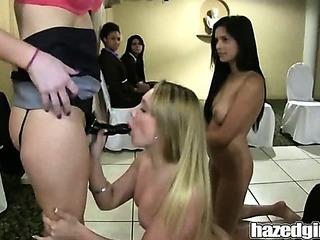 Porno Video of Hazedgirl Lesbian Victims