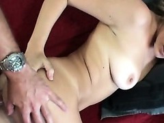 Amazing bitch anal fucking at home