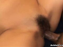 Busty horny slut Romihi Nakamura multiple cumshots!