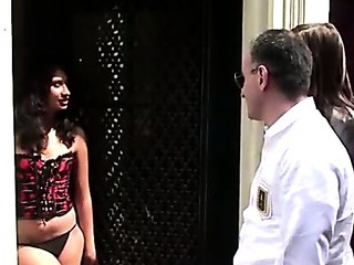 Porn Tube of Horny Dutch Hooker In Lingerie