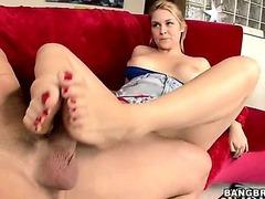 Toes that will make you cum w/Sarah Vandella