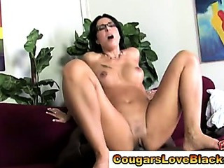 Porn Tube of Mature Couger Fucked By Black Man Cock