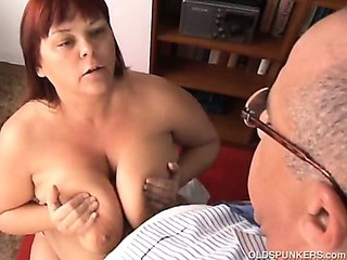 Porno Video of Big Tits Mature Bbw Loves To Suck Cock