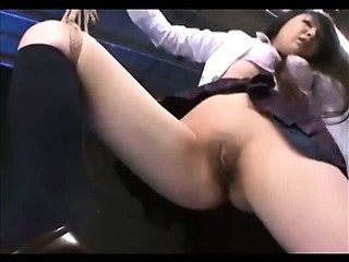 Porno Video of Shaved Asian Bound And Toyed