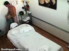 A Lovely Korean Massage Therapist Doing A Handjob