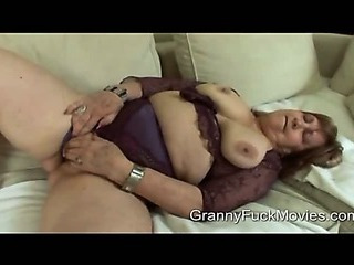 Porno Video of Dirty Old Granny Wants To Be A Pornstar