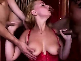 Porn Tube of Dutch Hooker Sucks Two Amateurs Cocks