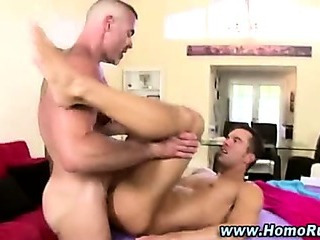 Porno Video of Straight Guy Enjoys Anal Fuck Cumshot