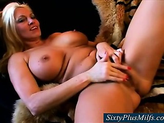 Porno Video of Gilf With Big Firm Breasts Fingering