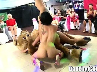 Porno Video of Dancingcock Huge Cock Party