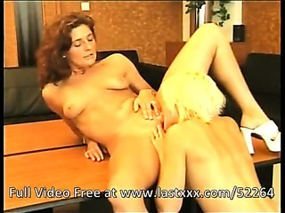 Porn Tube of Cool Lesbians In The Office