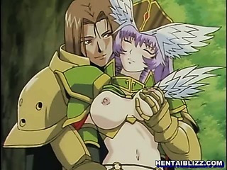 Porn Tube of Princess Hentai Titty And Doggy Style Fucking In The Forest