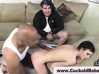 Porno Video of Skinny Babe Takes Black Dick