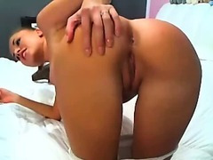 Adorable Teen Masturbating