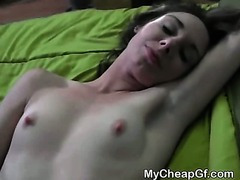 Brunette Ex Fucked And Takes Cumshot Point Of View