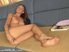 A Horny Brunette Girl Looking For Orgasm