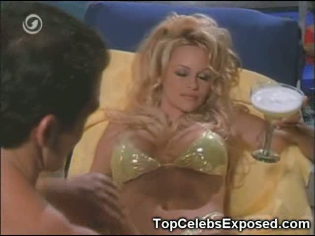 Pamela Anderson sexy Arsch
