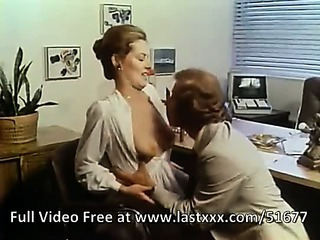Porno Video of Veronica Hart Classic Office Porno