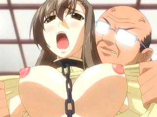 Porn Tube of Chained Hentai With Bigboobed Deep Poking From Behind