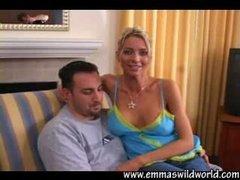 Busty Blonde Emma