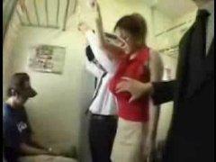 Big Tits Asian Groped on Train...