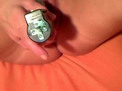 Amateur Teen With Rotating Dil...