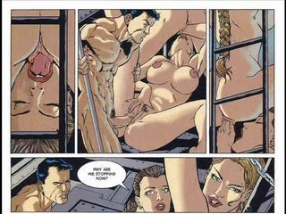 Porn Tube of Hardcore Sex Comic And Fantasy Bondage Comic