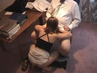 Sex Movie of Amateur - Russian Teen Fucking Her Boss