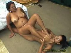 Brazil MILF & Teen Foot Lick Part 2