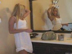 Blonde Model Amber