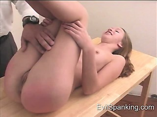 Porno Video of Red Spanked Sexy Ass
