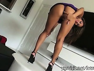 Porno Video of Busty Tanned Girlfriend Tries Out Anal Sex With Bf On Camera