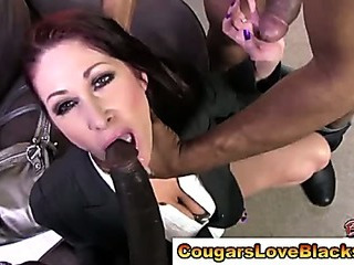 Porn Tube of Milf Interracial Threesome