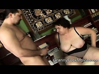 Sex Movie of Ugly Fat Granny Sucking On Fresh Dick