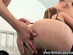 Nasty british mff threesome