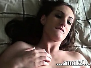 Porno Video of Huuuge Cock In Her Tight Anal Hole