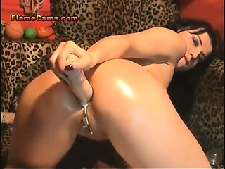 Porno Video of Self Anal Fisting Amateur Slut