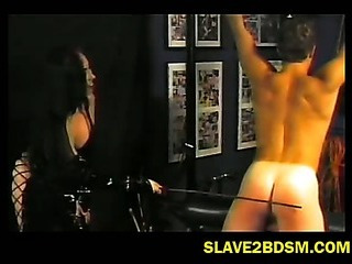 Porno Video of Well Built Man Punished Hard By Mistress