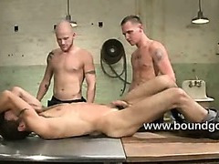 Luke and Jesse play with poor bound DJ