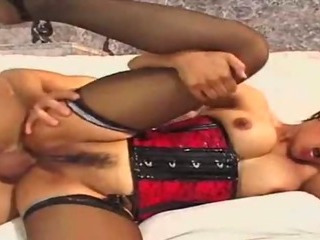 Porn Tube of Horny Asian Devours Cock
