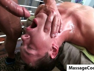 Porno Video of Massagecocks Hard Cock Massage