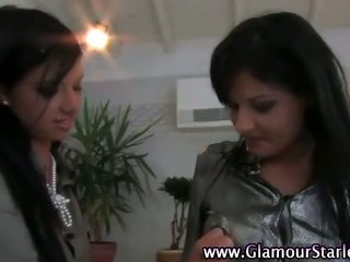 Porno Video of Check These Glam Fetish Lesbians