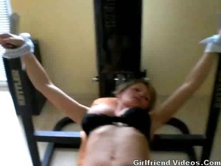 Porno Video of Tied Up Milf Getting Fucked