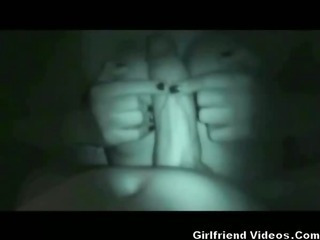 Porn Tube of Nighttime Titty Fuck & Facial
