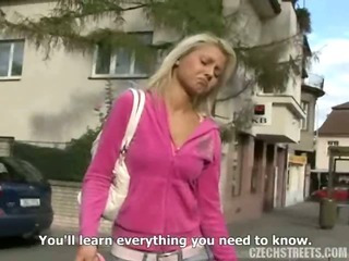Porn Tube of Czech Streets - Ingrid