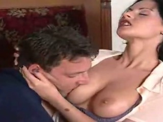 Porno Video of Hungarian Milf Rides A Thick Cock