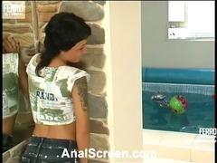 Subrina&Dorian passionate anal movie